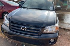 Foreign Used Toyota Highlander 2004 for sale