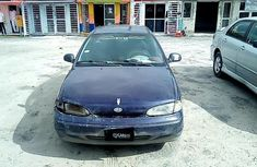 Nigeria Used Hyundai Accent 1996 Model Blue