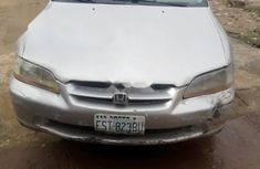 Nigeria Used  Honda Accord 2000 Model Silver