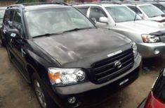 Nigeria Used Toyota Highlander 2007 Model Black