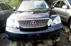 Foreign Used Lexus RX 2007 Model Blue