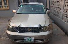 Nigeria Used Toyota Avalon 2003 Model Gold