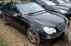 Nigeria Used Mercedes-Benz C230 2008 Model Blue
