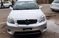 Foreign Used Toyota Matrix 2007 Model Silver