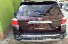 Clean Nigerian used 2013 Toyota Highlander