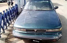 Nigeria Used Mitsubishi Galant 1990 Model Black