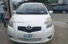 Nigeria Used Toyota Yaris 2007 Model White