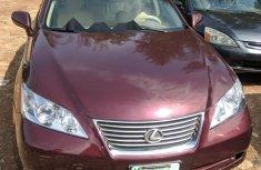 Nigerian Used Lexus ES 2007 Automatic Red