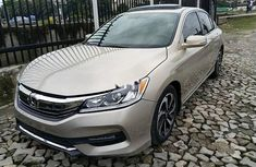 Foreign Used Honda Accord 2016 Petrol