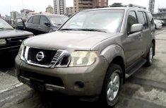 Nigeria Used Nissan Pathfinder 2008 Model Grey