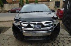 Nigeria Used Ford Edge 2012 Model Black