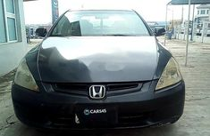 Nigeria Used Honda Accord 2003 Model Black