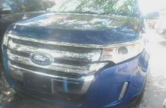 Foreign Used Ford Edge 2010 Model Blue