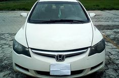 Nigeria Used Honda Civic 2006 Model White