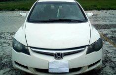 Nigeria Used Honda Civic 2006 Model White