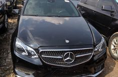 Tokunbo Mercedes-Benz E350 2010 Model Black