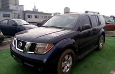 Nigeria Used Nissan Pathfinder 2005 Model Blue