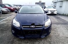 Nigeria Used Ford Focus 2012 Model Blue