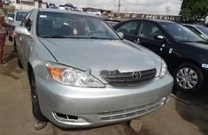 Tokunbo Toyota Camry 2002 Model Silver