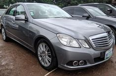 Nigeria Used Mercedes-Benz E350 2011 Model Grey