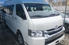 Neat Foreign used Toyota HiAce 2015 Model