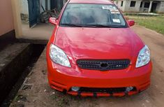 Used Toyota Matrix Foreign 2004 Model Red for Sale