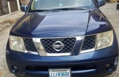 2006 Nissan Pathfinder Nigeria Used Blue for Sale