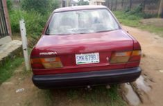 Nissan Primera 1999 Model Nigeria Used Red