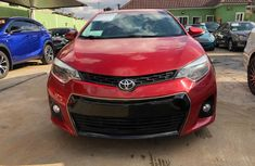 Toyota Corolla for Sale in Lagos 2015 Sedan Foreign Used