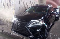 Lexus RX 350 Model 2012 Foreign Used Black