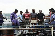 Navy arrests 5 suspected vandals, recovers 136 jerry cans of stolen petrol
