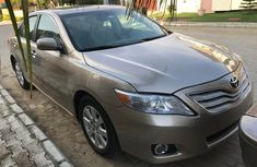 Used Toyota Camry Foreign 2009 Model Gold