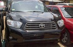 Toyota Highlander SUV Foreign Used 2010 Model Black