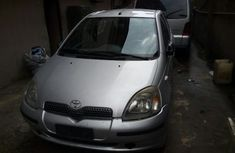 Toyota Yaris 2002 Model Foreign Used Silver