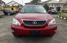Lexus RX 350 2009 Model Foreign Used Red