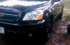 Honda Pilot 2005 Model American Spec Nigeria Used Black