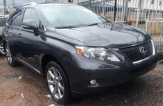 Lexus RX 350 2010 Model Foreign Used Black