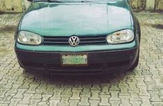 Volkswagen Golf 2003 Manual Nigeria Used Green