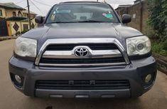 Toyota 4runner 2006 Model SR5 Foreign Used Grey