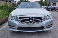 Used Mercedes Benz ES350 Foreign 2013 Model Silver