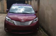 Toyota Sienna 2014 Model Foreign Used Red