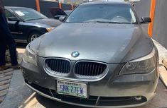BMW 525i 2009 Model Nigeria Used Grey for Sale