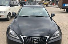 Lexus IS250 2015 Model Nigeria Used Black for Sale
