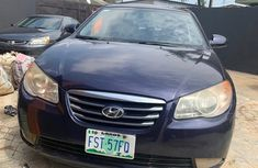 Hyundai Elantra 2009 Model Nigeria Used Blue