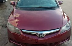 Honda Civic 2008 Model Nigeria Used Red for Sale