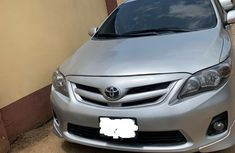 Used Toyota Corolla Nigeria 2012 Model Silver for Sale
