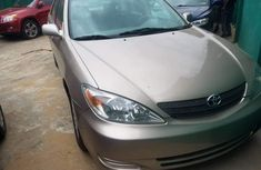 Used Toyota Camry Foreign 2003 Model Gold