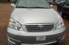 Used Toyota Corolla Foreign Sport 2006 Model Silver