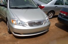 Used Toyota Corolla Foreign 2003 Model Silver