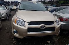 Used Toyota RAV4 for Sale Foreign 2010 Model Gold